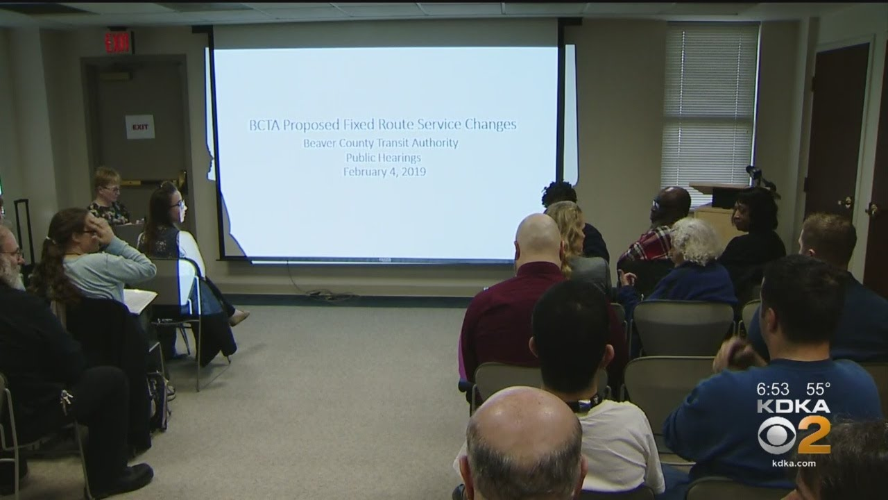 beaver county transit authority proposes service changes upsetting riders youtube beaver county transit authority proposes service changes upsetting riders