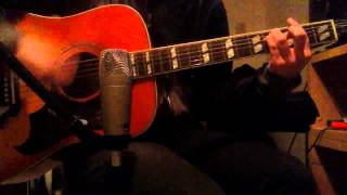 Tom DeLonge - The Invisible Parade Acoustic Guitar Cover