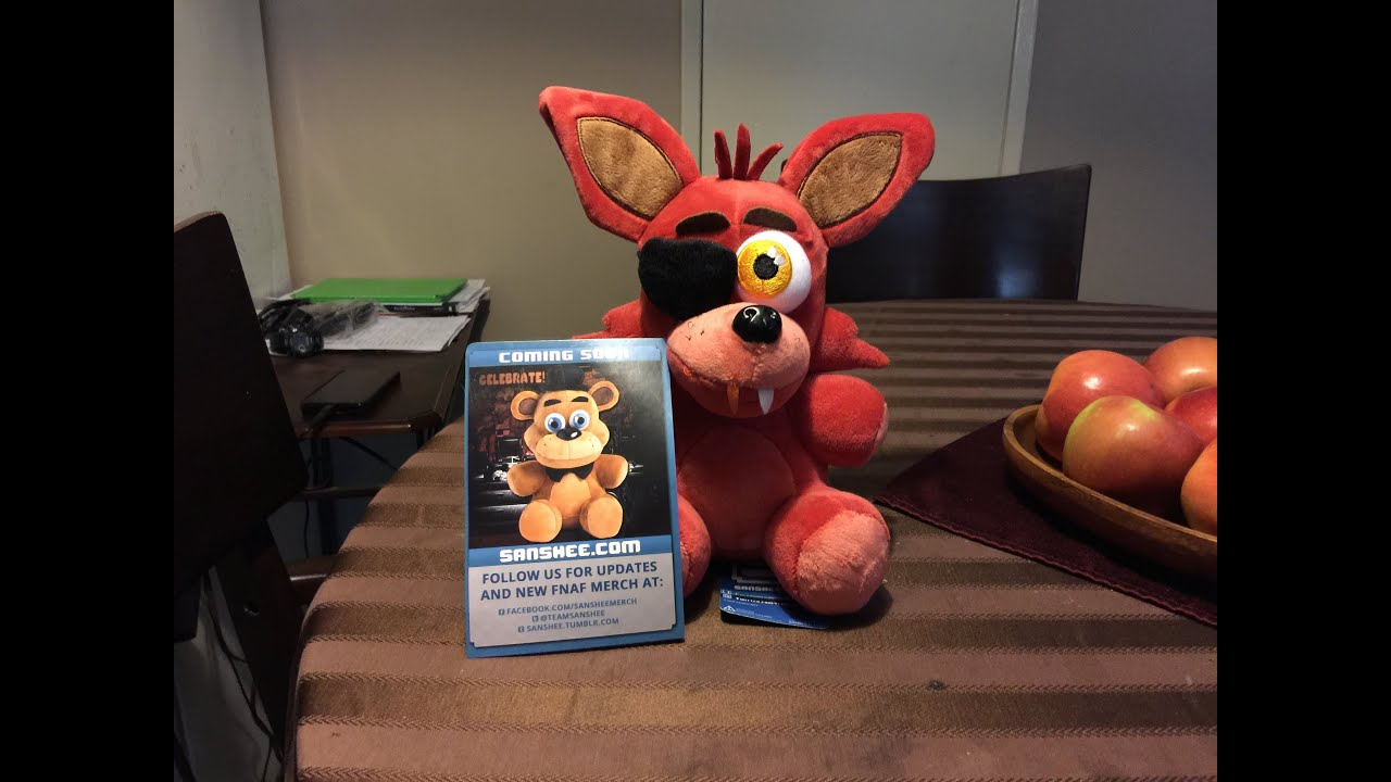 How to make your own five nights at freddys foxy plush - How To Make Your Own Five Nights At Freddys Foxy Plush 2