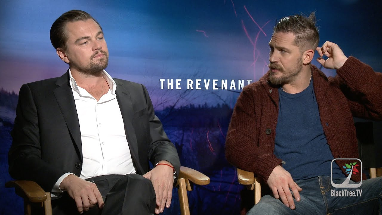 leonardo dicaprio and tom hardy interview the revenant youtube