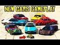GTA Online ALL UNRELEASED CARS GAMEPLAY! RC Bandito, Schalgen GT, Deveste Eight & More!