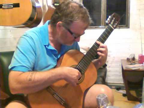 Aria AC 25 Demonstration Kent Classical Guitars (Barry Segal)