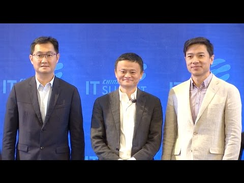 China's Tech Tycoons Discuss Future of AI