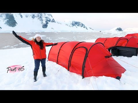 Camping in Antarctica! | Part 6 of 6 ~ Antarctica Expedition)