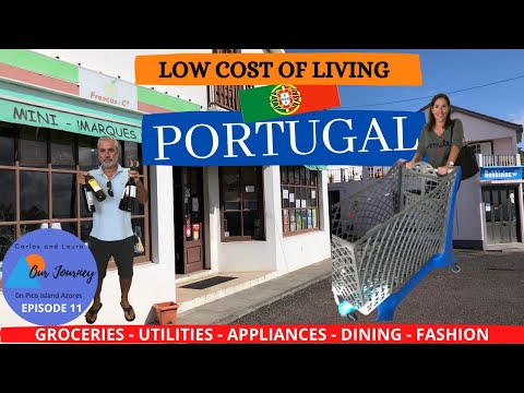 Portugal Low Cost of Living in Portugal Azores  Pico Island  One of the lowest in Europe Episode 11