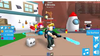 roblox mining simulator rebirthing   Shot with GeForce