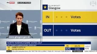 فيديو..'جلاكسو' تصوت لصالح البقاء في الاتحاد الأوروبي وسط توقعات بتغلب'المغادرة'