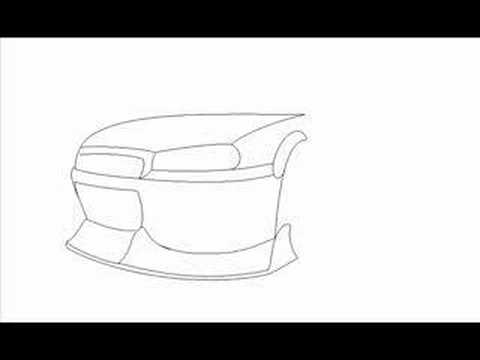 how to draw a skyline step by step