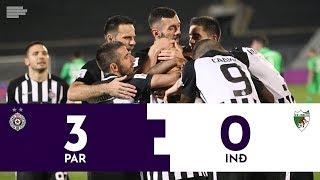Partizan - Inđija 3:0 | Pregled utakmice | Superliga Srbije