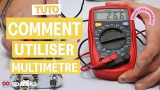 Comment utiliser un multimètre ou testeur ?