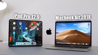Apple iPad Pro 12.9 vs Macbook Air 2018 Comparison Review!