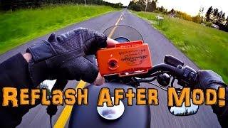 Super Tuner Pro ECM Flash! - After Air Box Mod! - Iron 883   TechTalk