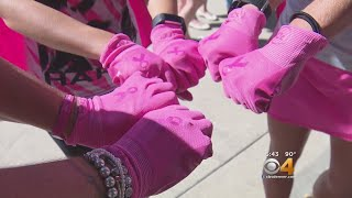 'Let Go Of That Guilt': Breast Cancer Survivors Pull 100,000 Lb. Cement Truck