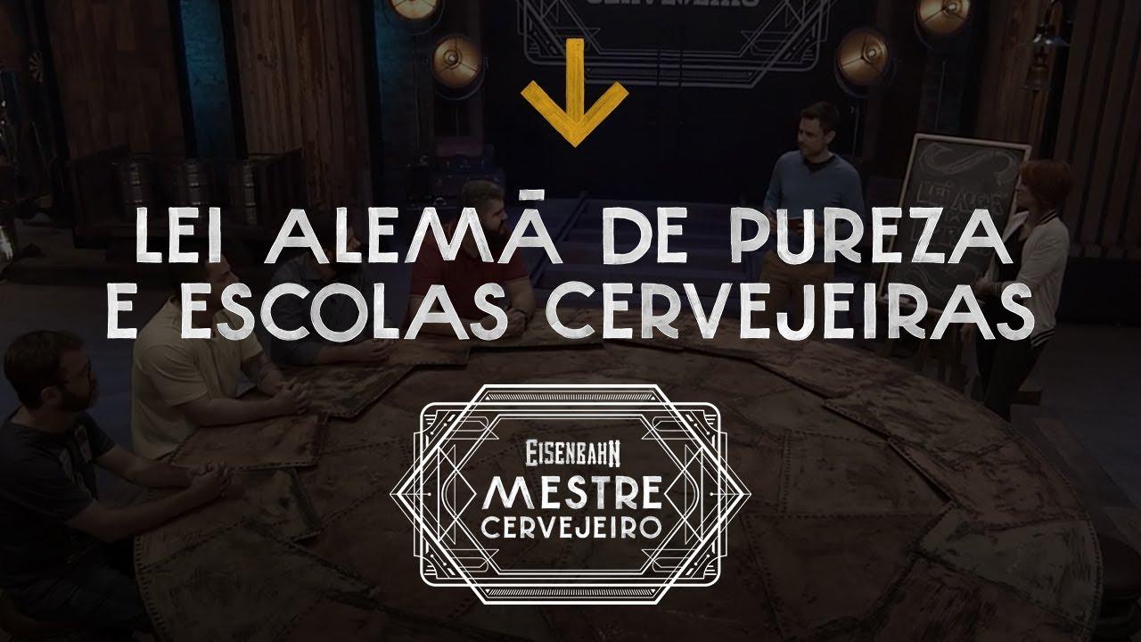 Eisenbahn Mestre Cervejeiro | Materclass Lei Alemã da Pureza e Escolas Cervejeiras