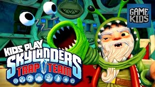 Skylanders: Trap Team Gameplay Part 2 - Kids Play