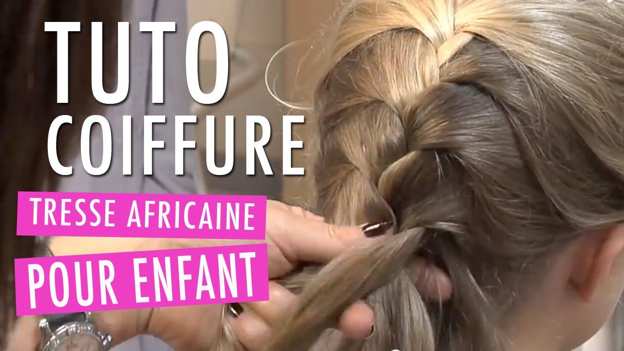 tresse africaine tuto coiffure enfant youtube. Black Bedroom Furniture Sets. Home Design Ideas