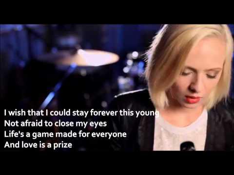 Madilyn Bailey - Wake Me Up (Lyrics On Screen HD) Cover