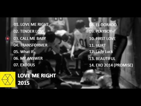 [FULL ALBUM/MP3] EXO - Love Me Right (Korean Version)