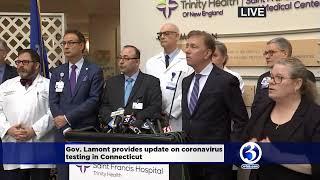 Gov. lamont's coronavirus testing announcemnt