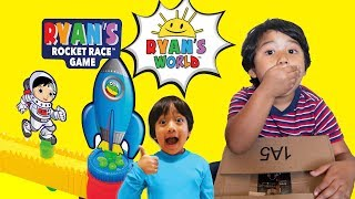 Ryan's World RYAN TOYSREVIEW Sent Us a Package! Ryan's Race Game Family Game Night Challenge