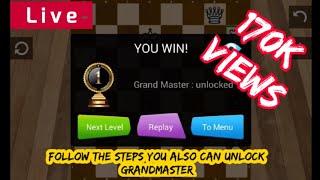Master level chess win conform