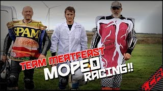 Moped Race on MX Track | CARNAGE!!