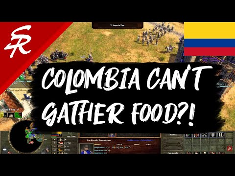 Colombia Can't Gather Food?! | Wars Of Liberty | Age Of Empires III