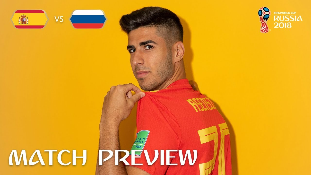 8e5d1eccc Marco ASENSIO (Spain) - Match 51 Preview - 2018 FIFA World Cup ...