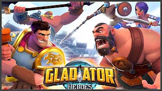 Gladiator Heroes - Fighting and strategy game (Gameplay) screenshot 5