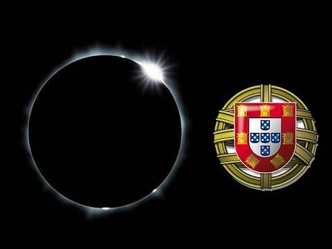 Solar Eclipse Live  visto de Portugal - Live