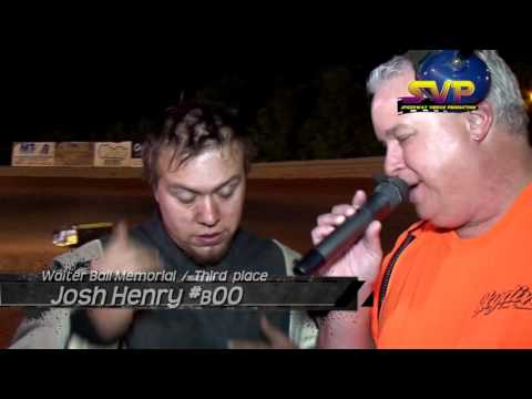 Volunteer Speedway/ Feature Winners Interviews / May 6 , 2016
