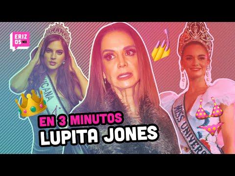 ¿Quién es Lupita Jones? | En 3 minutos
