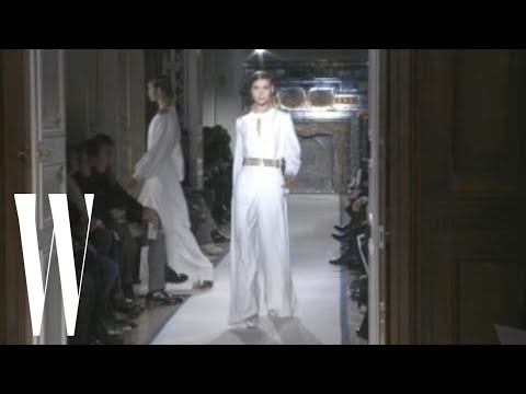 Yves Saint Laurent Fall 2011 - runway fashion show - W Magazine