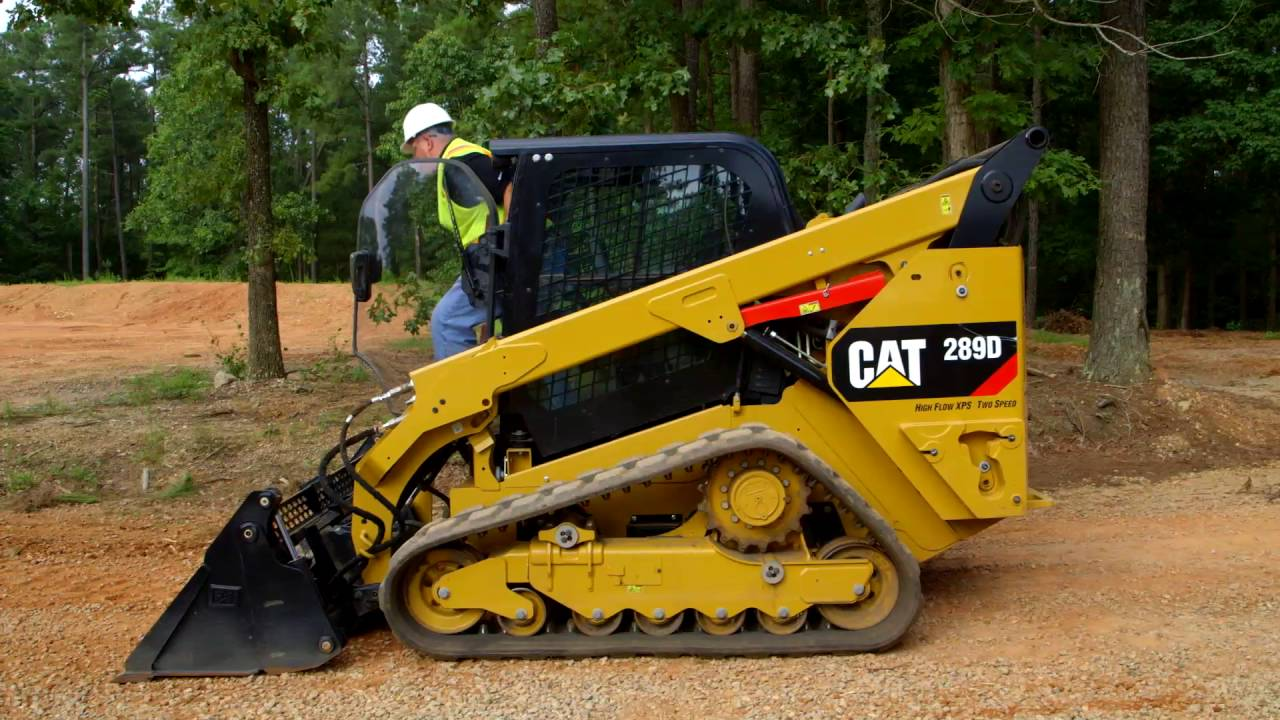 how to hook up a work tool attachment cat skid steer compact track loaders operating tip  [ 1280 x 720 Pixel ]