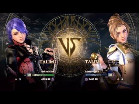 High Level Talim Vs Talim | Soul Calibur 6 Ranked