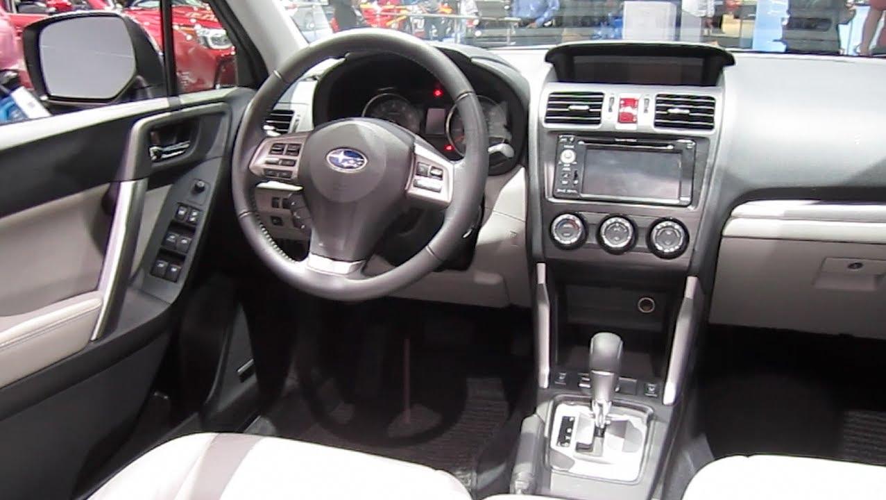 Subaru Forester Review Engine Interior