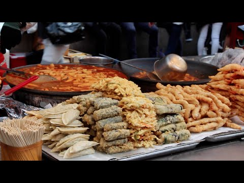 Life in Korea Ep.8 Korean Street Food!!!