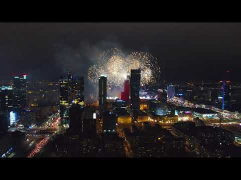FALL IN LOVE WITH WARSAW FROM AIR 4K