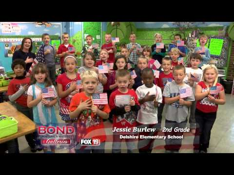 Pledge of Allegiance: Delshire Elementary School - Ms. Jessie Burlew 2nd Grade