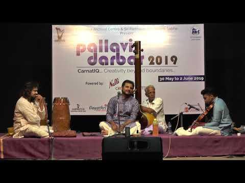 Vishnudev Namboothiri L Grand Pallavi Darbar Spl Concert  L Carnatica & SPS Sabha L 2019