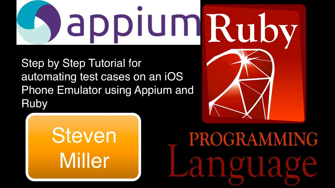 Appium Ruby iOS Safari - Simple Step by Step Introduction for mobile web  automation