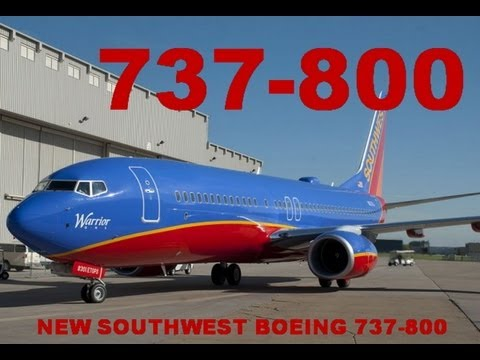 Southwest Airlines Launches New Boeing 737-800 ETOPS - N8301J WARRIOR ONE
