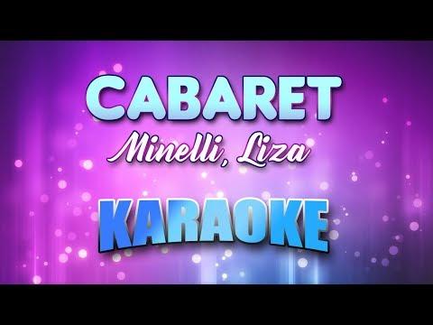 Cabaret - Minelli, Liza (Karaoke version with Lyrics) mp3