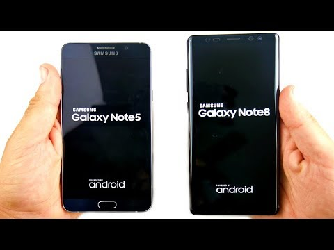 Samsung Galaxy Note 5 vs Galaxy Note 8! - Worth The Upgrade?