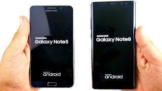 Gambar cover Samsung Galaxy Note 5 vs Galaxy Note 8! - Worth The Upgrade?