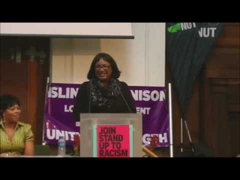 Diane Abbott - Stand up to racism #StopRacism2016