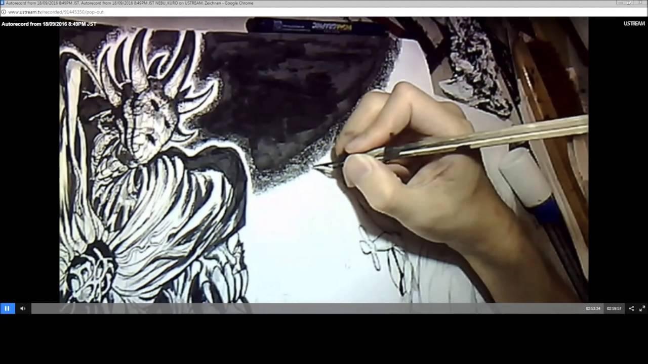 yusuke murata draws monster king orochi youtube