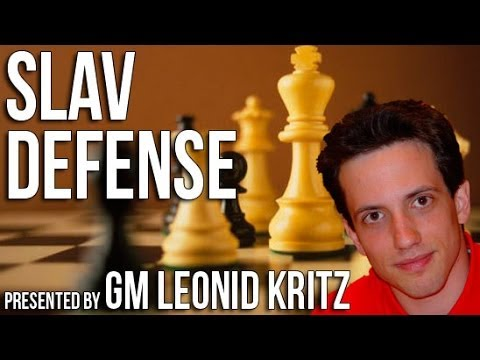 Dominate with the Slav Defense! - Presented by GM Leonid Kritz