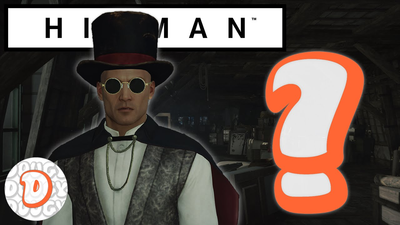Hitman How To Find The Vampire Magician Disguise Youtube