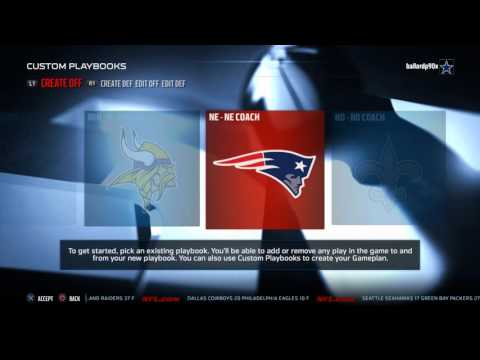 Best Madden 16 Best Unstoppable Offensive Playbook: Best Pass Run and Screen Plays